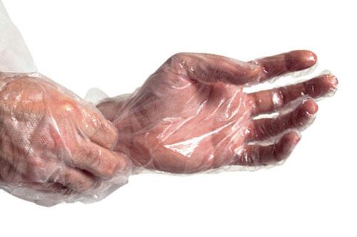 PE rukavice
